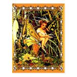 Paseos de la mariposa tarjetas postales