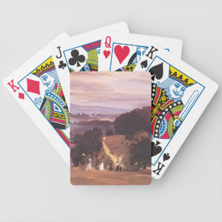Paseos de Ludlow del buey de Philip Wilson Baraja Cartas De Poker