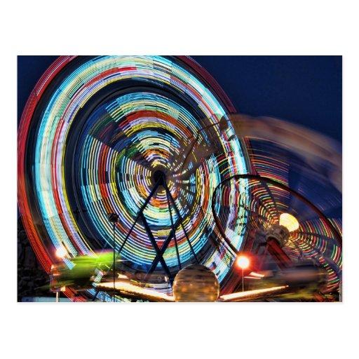 Paseos del carnaval de Helaine Tarjetas Postales