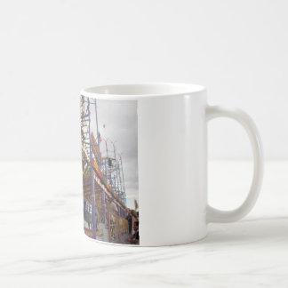 Paseos intermediarios taza de café