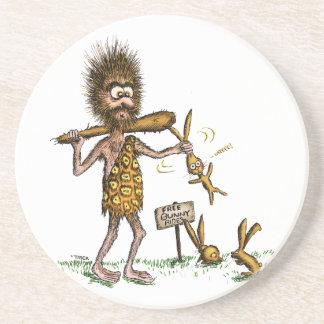Paseos libres del conejito - hombre de las posavasos manualidades