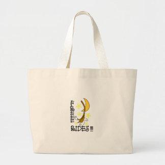 Pases gratises bolsa tela grande