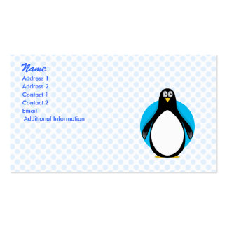 Pasha Penguin Business Card