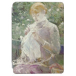 Pasie sewing in Bougival's Garden, 1881 iPad Air Cover