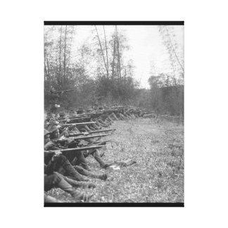 Pasign. Oregon Volunteer Infantry_War Image Canvas Print