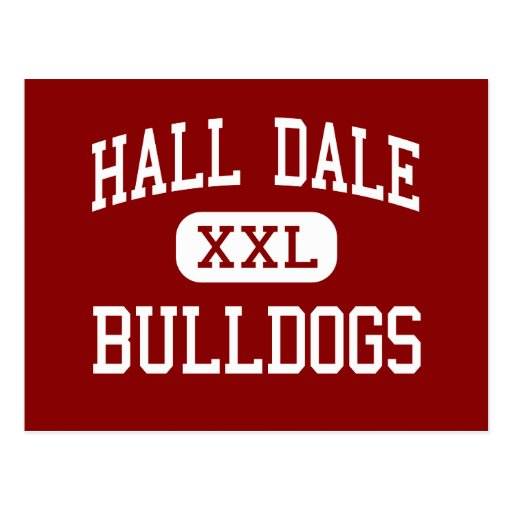 Pasillo Dale - dogos - centro - Farmingdale Maine Tarjeta Postal