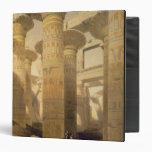 "Pasillo de columnas, Karnak, de ""Egipto y de Nubia"