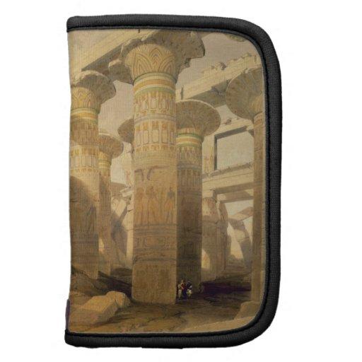 """Pasillo de columnas, Karnak, de """"Egipto y de Nubia Planificadores"""