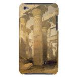 "Pasillo de columnas, Karnak, de ""Egipto y de Nubia iPod Touch Funda"