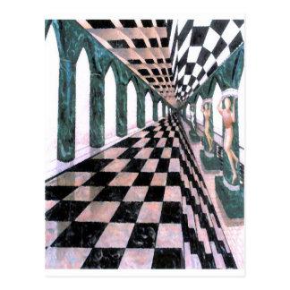Pasillo de Diana - del arte y del diseño de Postales