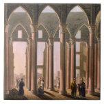 Pasillo de José en el castillo de El Cairo, platea Azulejo
