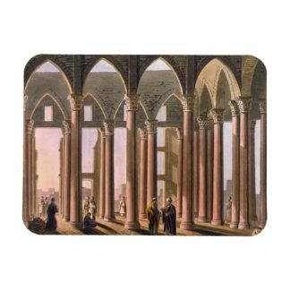 Pasillo de José en el castillo de El Cairo, platea Imán