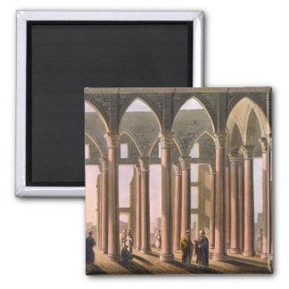 Pasillo de José en el castillo de El Cairo, platea Imán Cuadrado