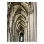 Pasillo de la catedral postal