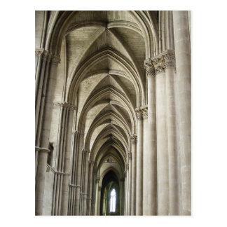 Pasillo de la catedral postales