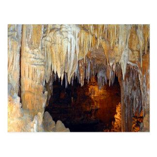 Pasillo de la escena mística de la cueva de las tarjetas postales