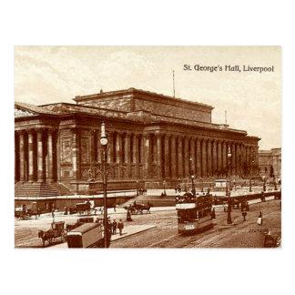 Pasillo de Liverpool, San Jorge Tarjeta Postal