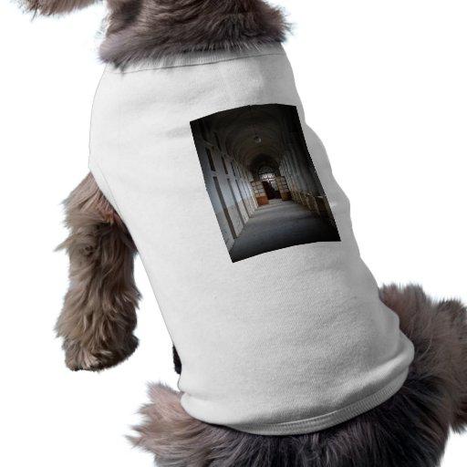Pasillo de Manicomio Playera Sin Mangas Para Perro