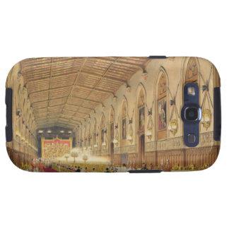 Pasillo de San Jorge castillo de Windsor 1838 c Galaxy S3 Funda