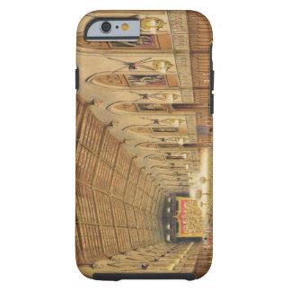 Pasillo de San Jorge, castillo de Windsor, 1838 Funda Para iPhone 6 Tough