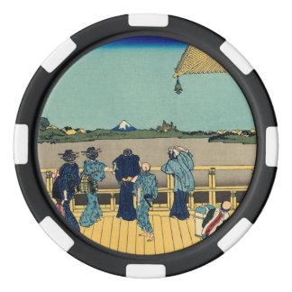 Pasillo de Sazai - templo de quinientos Rakan Juego De Fichas De Póquer