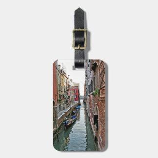 Pasillo de Venecia Etiqueta Para Maleta