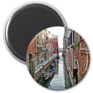 Pasillo de Venecia Imán Redondo 5 Cm