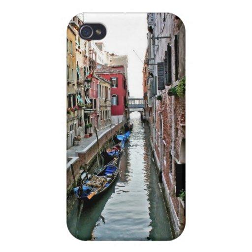 Pasillo de Venecia iPhone 4 Fundas