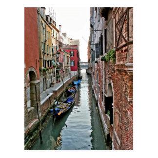 Pasillo de Venecia Postal