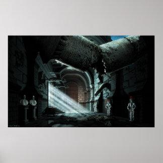 Pasillo del castillo poster