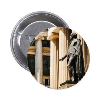Pasillo federal, NYC Pin Redondo De 2 Pulgadas