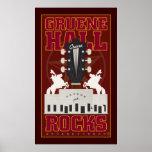 Pasillo-Impresión de Gruene Poster