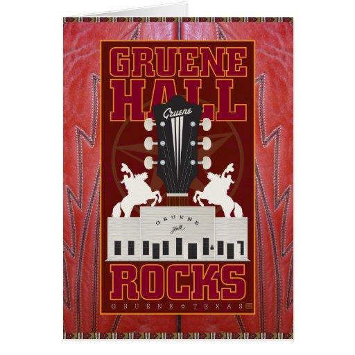 Pasillo-Tarjeta de Gruene