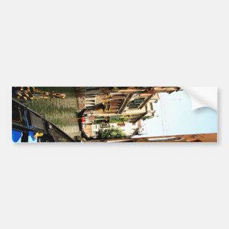 Pasillo veneciano pegatina para auto