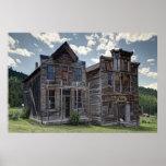 Pasillos públicos del pueblo fantasma de Elkhorn - Impresiones