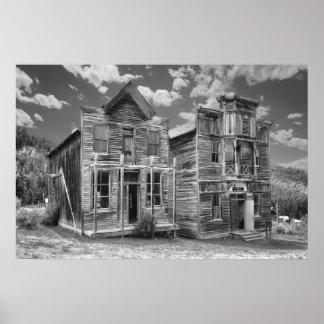 Pasillos públicos del pueblo fantasma de Elkhorn - Posters