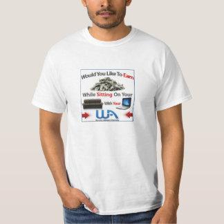 Pasión a la camiseta pagada