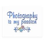 Pasión de la fotografía postales