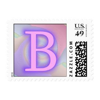 Pasión de la púrpura del monograma de B