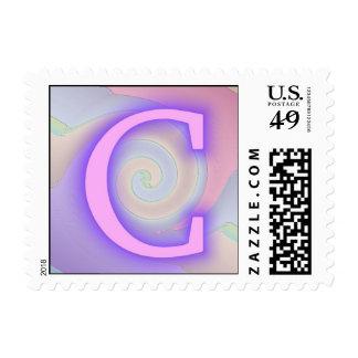 Pasión de la púrpura del monograma de C