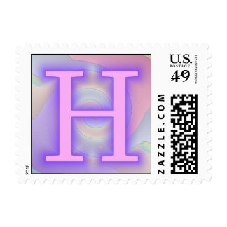 Pasión de la púrpura del monograma de H