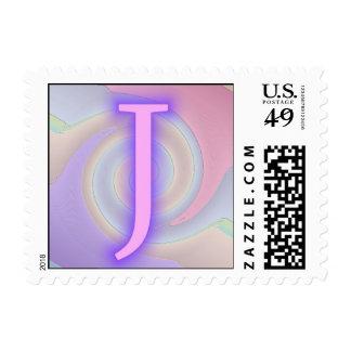 Pasión de la púrpura del monograma de J