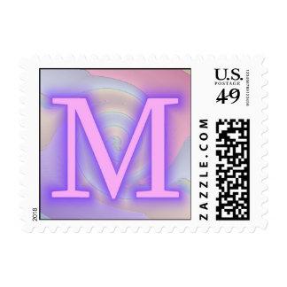 Pasión de la púrpura del monograma de M
