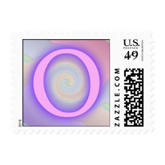 Pasión de la púrpura del monograma de O
