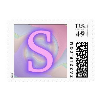 Pasión de la púrpura del monograma de S