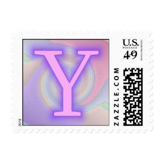 Pasión de la púrpura del monograma de Y