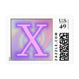 Pasión de la púrpura del monograma X