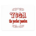 Pasión de la yoga postal