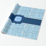 Pasión de Paisley - (azul) (alheña) (monograma)