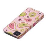 Pasión de Paisley Case-Mate iPhone 4 Cárcasas